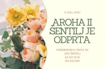 AROHA – cvetličarna & darilni butik